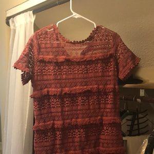 Lace anthro dress